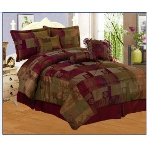 Burgundy King Size Bedding And Pets On Pinterest