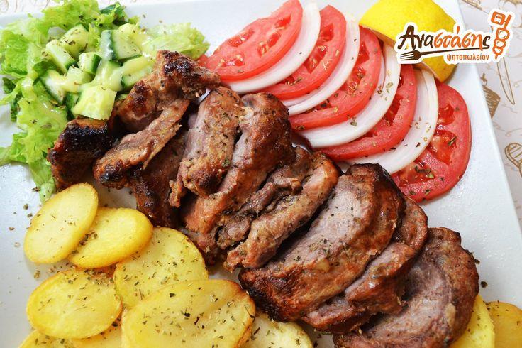 #Κοντοσούβλι χοιρινό για όλους εμάς που εκτιμάμε το καλό #φαγητό...