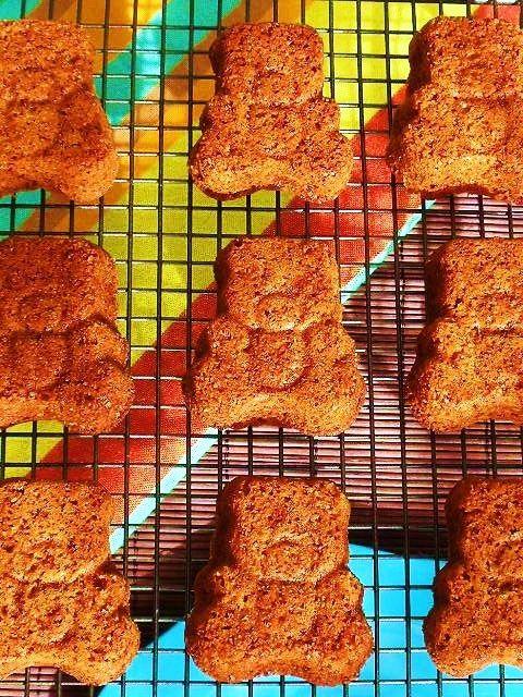 Cinnamon & ginger bears - sin leche, sin huevo, sin frutos secos, sin soja de Cocina Amiga