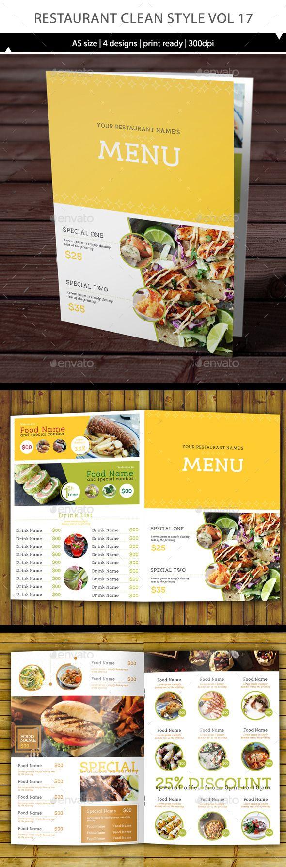 Best Menu Design Images On Pinterest Restaurant Menu Design