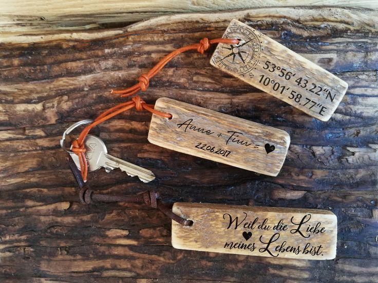 Personalisierter Schlüsselanhänger Name Koordinate Liebe Hochzeit Geburt Datum Valentinstag Geschenk