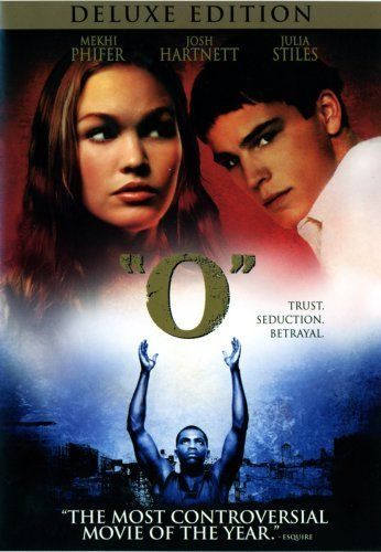Directed by Tim Blake Nelson.  With Mekhi Phifer, Julia Stiles, Martin Sheen, Josh Hartnett. An update of Shakespeare's 'Othello' with a young cast, set in an upper class prep school, & centered around basketball player Odin.