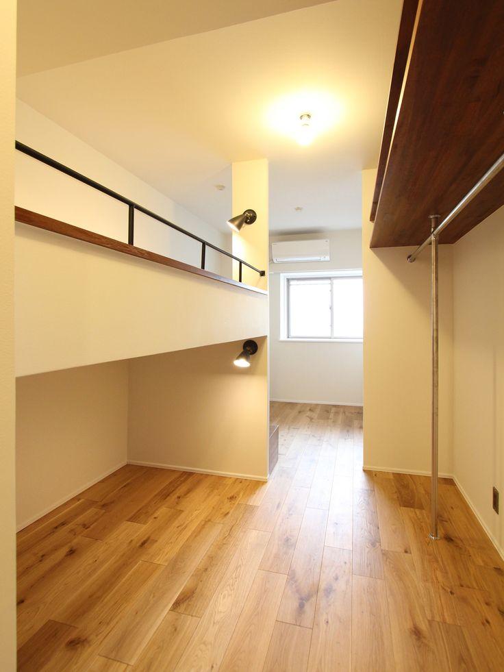 BED/Walk-in closet/ベッド/ウォークインクローゼット/フィールドガレージ/FieldGarage INC./リノベーション