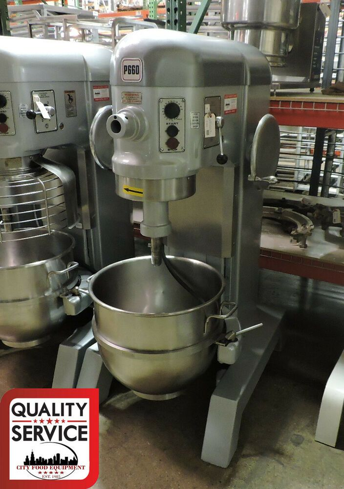 Hobart P660 Commercial 60 Qt Pizza Dough Mixer W 60qt Bowl 2 5hp Hobart Pizza Dough Mixer Pizza Dough Restaurant Equipment