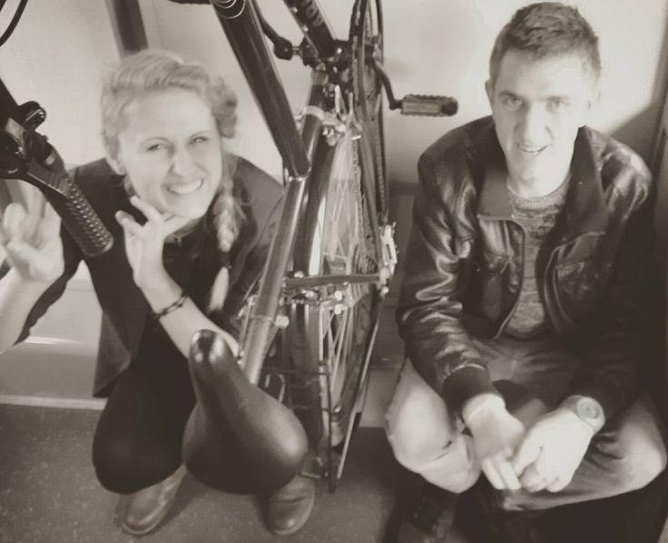 #walić#biede#podróż#marzeń#prawie#jak#pierwsza#klasa#w#pendolino#spotkanie#po#latach#Szymon#:)#Denis#photography#one#way#ticket#travel#sunshine#smile#happy#time#bike#friends#man#woman# by sparkle123oo