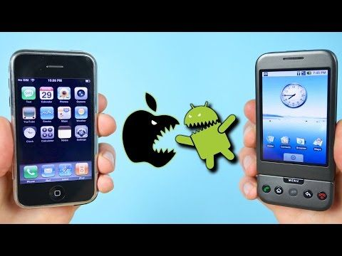 Who Copied Who? First iPhone vs First Android Phone on Their FIRST Firmware Versions (iOS 1.0 vs Android 1.0) + First iPhone Passcode Bypass EVER. source
