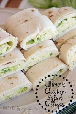 Ultimate Chicken Salad Rollups!