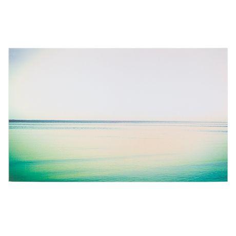 Seascape Canvas 100x150cm  Multi Pastel