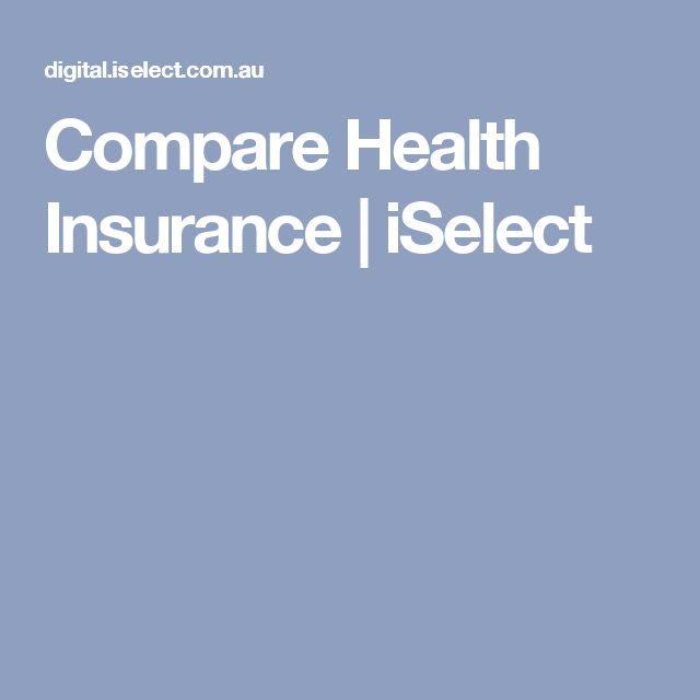 Compare Health Insurance | iSelect