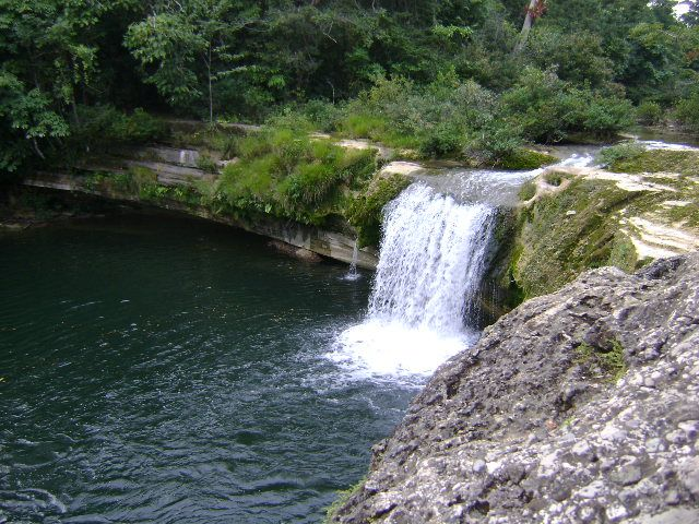 One of the most beautiful waterfalls we have ever seen in Río Blanco National Park, Punta Gorda, Belize. More info at: http://www.belizeit.com/rio-blanco-national-park.html