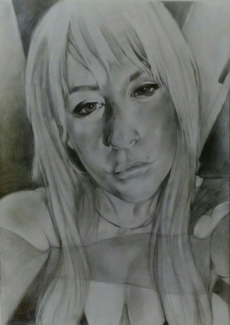 Sketch Potrait on Canson Paper A3 By Artist Mike Eleftheriou