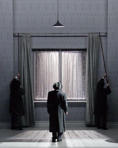 i went to the house but did not enter, Heiner Goebbels, Klaus Grünberg