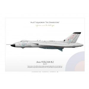 Avro VULCAN B.2 XL315 617 Sqn IK-187