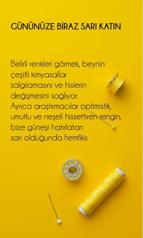 GÜNÜNÜZE BİRAZ SARI KATIN KASABA'da.. Kaynak: @gqturkiye #sarı #yellow #renkler…