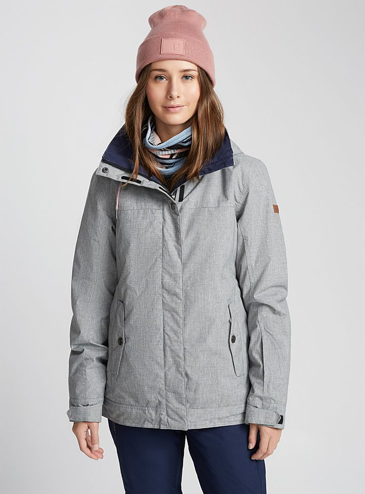 Billie coat Fitted style - Winter Coats - Grey
