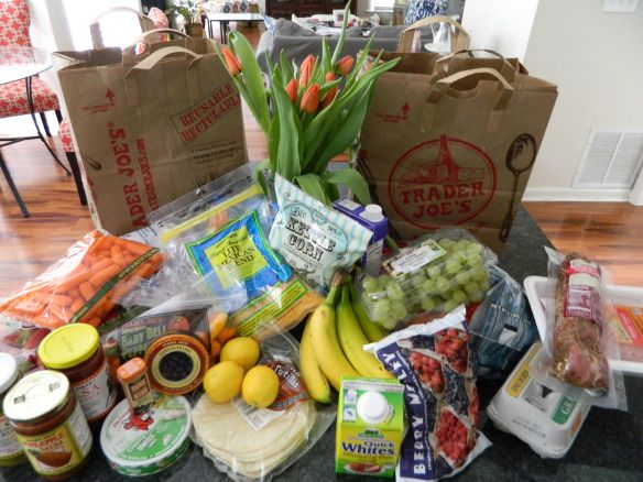 Our Weight Watchers Trader Joe's Shopping List!
