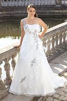 Ladybird ls35052 Grote maten bruidsmode, trouwjurken en bruidsjurken