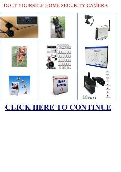 Do It Yourself Security. What Are The Best Home Security Cameras To Use In A