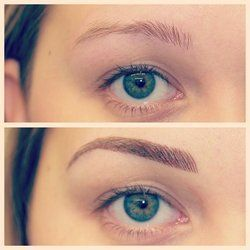 Best 25 Tattooed Eyebrows Ideas On Pinterest