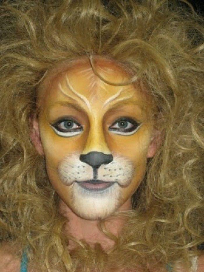 Bildergebnis für schminken löwe