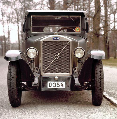 Volvo's first car, the 1927 ÖV4