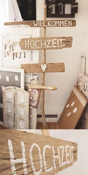 Treibholz-Schild (Driftwood) für Hochzeit und freie Trauung