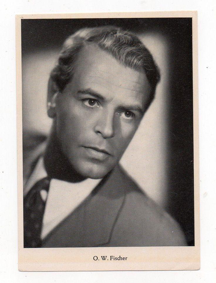 Autogrammkarte O.W. Fischer | eBay
