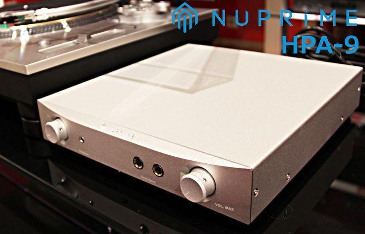 Vous cherchez un #préampli phono de très haute qualité avec ampli casque intégré ? Le #NuPrime Audio HPA-9 est fait pour vous ! Rapport prix/perf de foliiiiiiiiiie   #HPA9 #HiFi #AmpliCasque