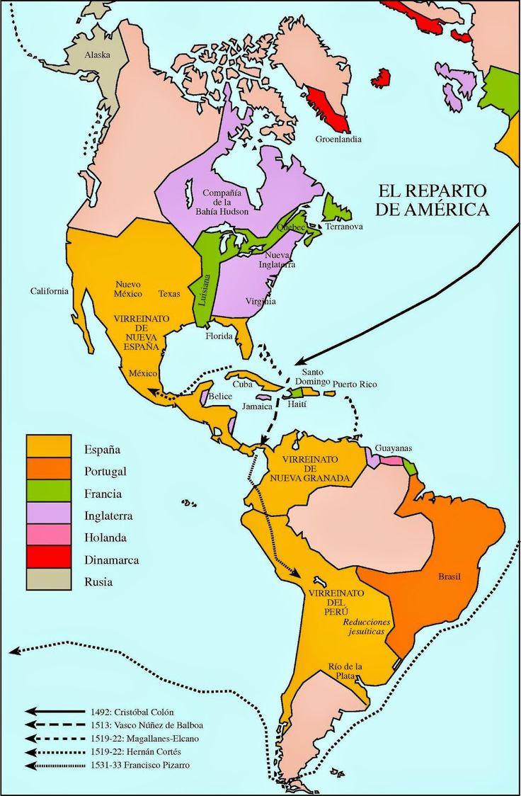 Blog de Sociales 2º ESO: COLONIZACIÓN DE AMÉRICA