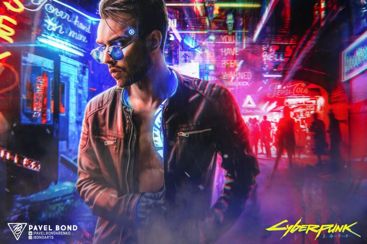 ArtStation SNAILKICK, PAVEL BOND Cyberpunk character