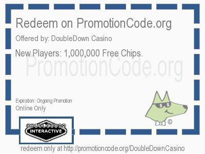 <b>New Players: 1,000,000 Free Chips. </b> coupon