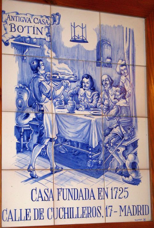 Azulejos Para Baños En Talavera Dela Reina:Madrid Oldest Restaurant in the World