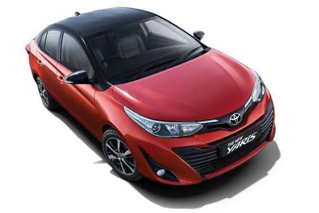 Updated Toyota Yaris Launched In India At Rs 8 65 Lakh New Features And Dual Tone Colours Yaris Honda City Toyota