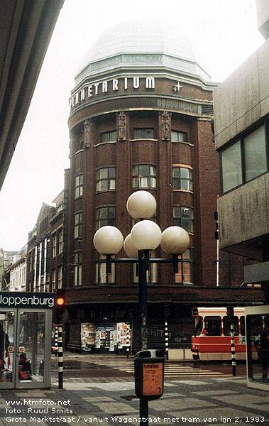 Grote Markstraat in 1983