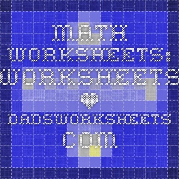 Dads worksheets division