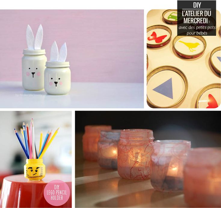 89 best petits pots images on pinterest | diy, projects and crafts