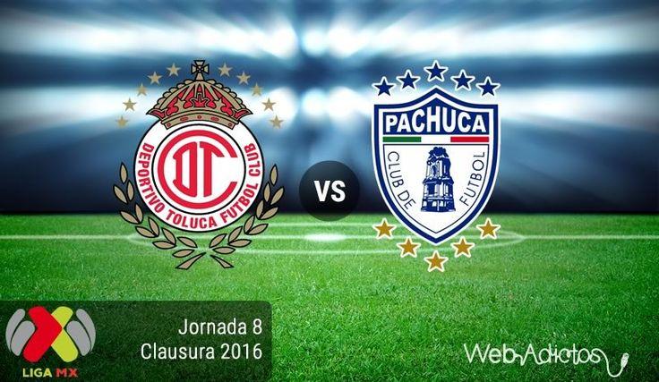 Toluca vs Pachuca, Fecha 8 del Clausura 2016 ¡En vivo por internet! - https://webadictos.com/2016/02/27/toluca-vs-pachuca-clausura-2016/?utm_source=PN&utm_medium=Pinterest&utm_campaign=PN%2Bposts