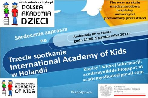 International Academy of Kids in the Netherlands | Link to Poland