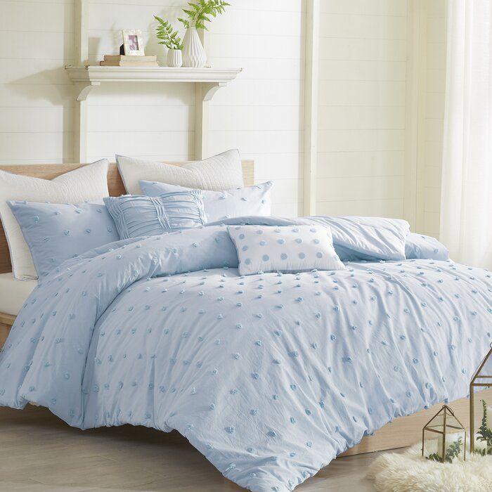 Eider Ivory Comforter Set Wayfair In 2020 Bed Comforter Sets Comforter Sets Blue Comforter