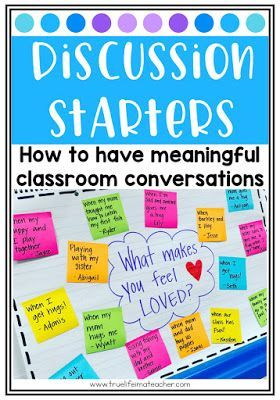 How to Have Meaningful Classroom Conversations | True Life I'm a Teacher