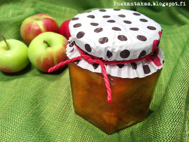 Toffeisen omenahillon resepti • Caramelized apple jam