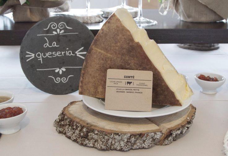 Eventos Restaurante España. Mesa de quesos. Comté. Lugo