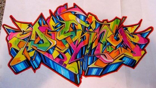 destiny graffiti wallpaper   16 Artwork Graffiti BlackBook Sketches   TagGraffitiLetters.com