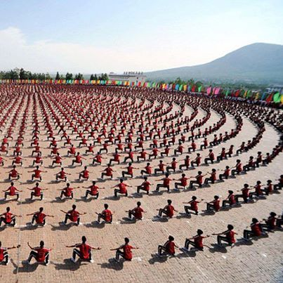 ♂ World martial art | Chinese 10,000 of China's Best Kung Fu Students . Would love to see this!