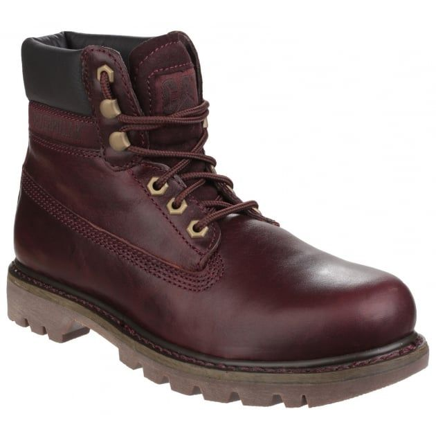 Colorado Lace Up Burgundy Boots