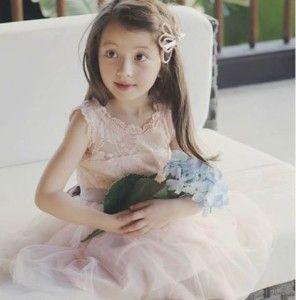 Rochie eleganta cu dantela si broderie model Lucy