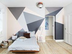 Morsomme gjør-det-selv-ideer til soverom og hjemmekontor
