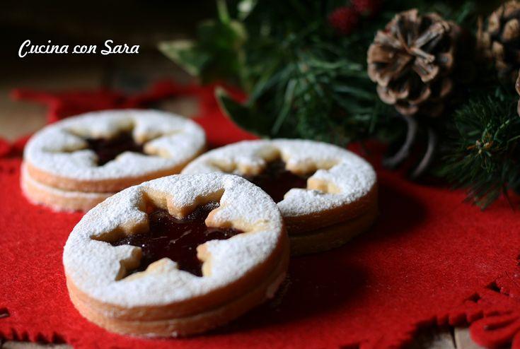 Ricetta biscotti natalizi alla marmellata di melagrana