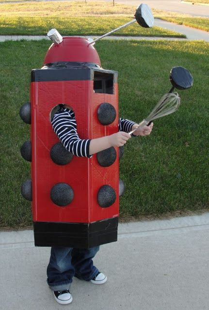 How To Make A Dalek Costume For Halloween