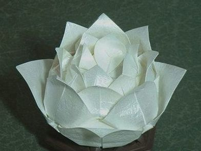 origami lotus blossom instructions